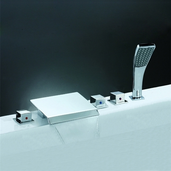 Shop Elanor Solid Brass Bathroom Faucet Y-8006-F1 At Bathselect