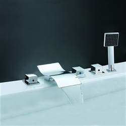 Chrome Bathtub Mixer