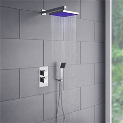 Milano shower head multicolor led