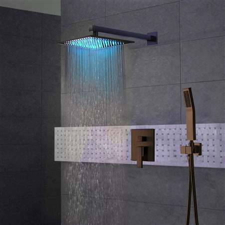 designer massage shower system