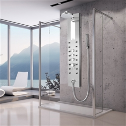 Onassis Rain Style Massage Jets Shower Panel System