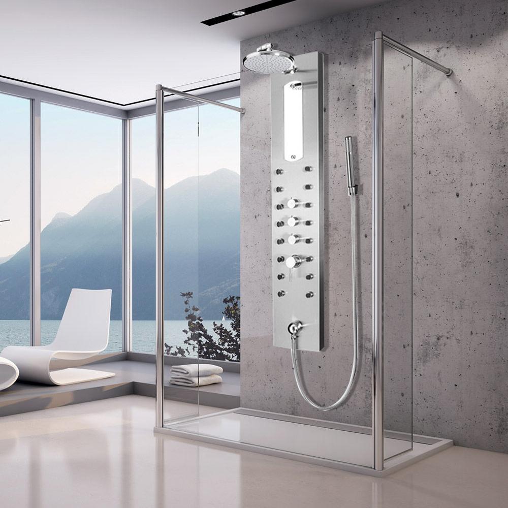 Onassis Rain Style Massage Jets Shower Panel System