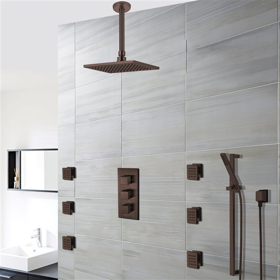 Buy Soma Orb Thermostatic Shower Set Online. Bathselect Accessories