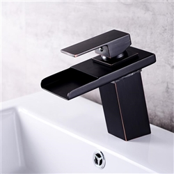 Classical Style Oil Rubbed Bronze Sink Faucet Single Lever Mixer Tap