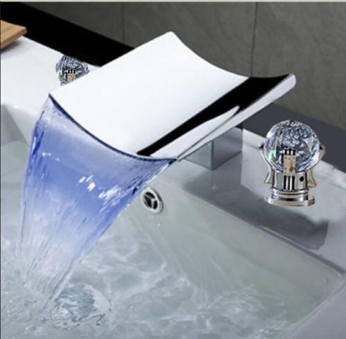 Led Luxury Waterfall Bathroom
