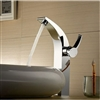 NEW Tall Chrome Brass Bathroom Sink Faucet Single Handle Vessel Mixer Tap