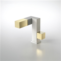 Bravat Gold Faucet mixer brass body air mix technology
