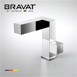Bravat chrome plated faucet  wash basin water faucet F164124C-1-ENG