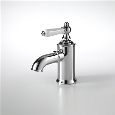 Bavaria Solid Brass Polished Chrome Deck Mount Faucet