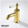 Mina Luxury Gold Plated Sink Faucet