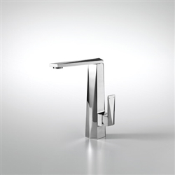 Bravat Chrome Polished Finish Bathroom Sink Mixer Tap