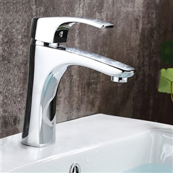 Brescia Single Handle Deck Mount Bathroom Sink Faucet