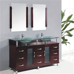FontanaShowers Lemans Double Vanity Set
