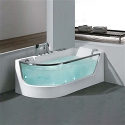 Glass jacuzzi Bathtub