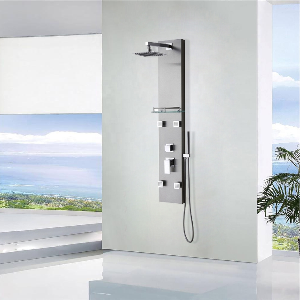 Ermanno Shower Panels Sale | Shower Panel Systems | Hydrotherapy ...