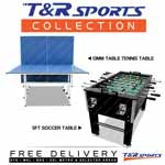 5FT SOCCER TABLE 13MM PING PONG TABLE