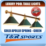 METAL POOL BILLIARD SNOOKER TABLE LIGHT