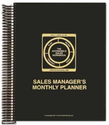 Sales Manager's Monthly Planner