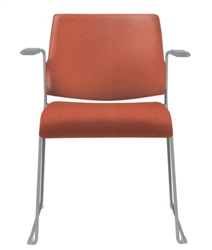 Allseating Tuck Fully Upholstered Stacker Chair