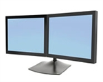 Ergotron DS100 Dual-Monitor Desk Stand, Horizontal