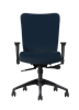 Allseating Inertia Midback Multi-Task Chair with Upholstered Seat & Back