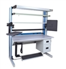 IAC Quick Ship Dimension 4 Single Sided Workstation