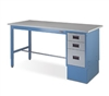 IAC Industries Quick Ship Single Pedestal Workbenches