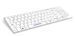 Man & Machine Its Cool Keyboard, Hygienic White