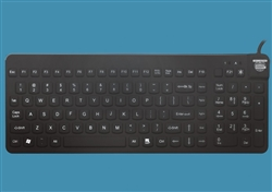 Man & Machine Really Cool LP Keyboard with Backlight, Black