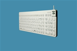 Man & Machine Really Cool LP Keyboard with Backlight, White
