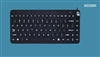 Man & Machine Slim Cool LP (Low Profile) Keyboard, Black