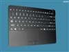 Man & Machine Slim Cool LP (Low Profile) + Keyboard with Touchpad, Black, Limited Lifetime Warranty