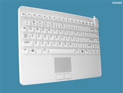 Man & Machine Slim Cool LP (Low Profile) + with Touchpad & MagFix, Hygienic White, Limited Lifetime Warranty