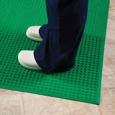 Ergomat Super-Safe Smooth (Green) Anti-Fatigue Mat