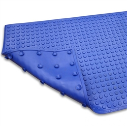 Ergomat Super-Safe Smooth (Blue) Anti-Fatigue Mat