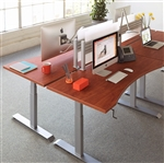 Workrite Ergonomics Sierra HXL Crank Adjustable Height Desk