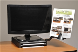 VuRyser 1 Plus with Adjustable Side Mount Document Support