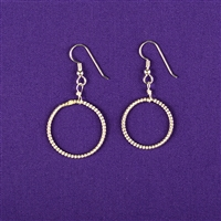 Sterling Silver Light-Life Earrings - Small