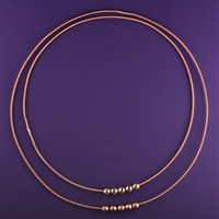 Set of Large, heavy, Sacred and Lost Cubit Light-Life Tensor Rings | Light-Life Technology
