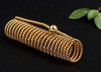 Lost Cubit Light-Life New Dimension Acu-Vac Coil, 24K Gold Plated, Wire Outside