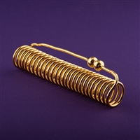 Empowerment Cubit Acu-Vac Coil, 24K gold plated | Light-Life Technology