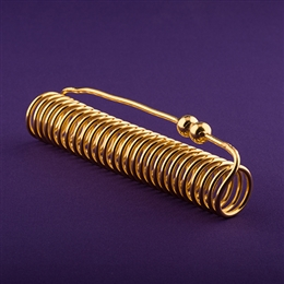 Empowerment Cubit Light-Life Acu-Vac Coil, 24K Gold Plated