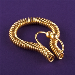 Empowerment Cubit Feedback Loop <br>copper, gold plated