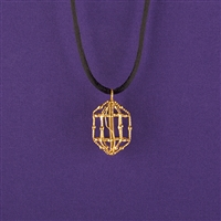 Song of the Soul Pendant, 24K Gold Plated, LACQUERED