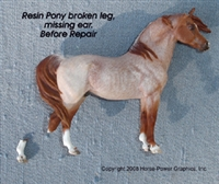 Donna Chaney Resin Pony