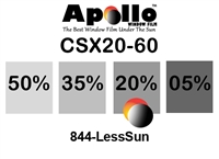 ULTRA CSX CARBON CERAMIC SERIES APOLLO WF 20% 1.5MIL 60in