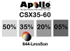 ULTRA CSX CARBON CERAMIC SERIES APOLLO WF 35% 1.5MIL 60in