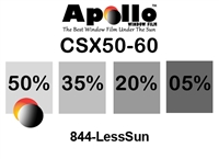 ULTRA CSX CARBON CERAMIC SERIES APOLLO WF 50% 1.5MIL 60in