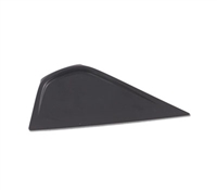 6in LITTLE FOOT SQUEEGEE POINTED EDGE -BLACK-