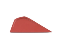 6in LITTLE FOOT SQUEEGEE POINTED EDGE -RED-
